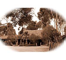 Australian Heritage Cottage Photographic Print