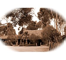 Australian Heritage Cottage Photographic Print