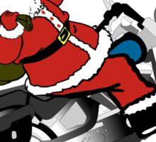 Santa's Ride Sticker