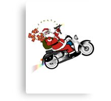 Santa's Ride Canvas Print