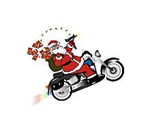 Santa's Ride Photographic Print