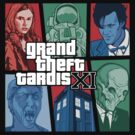Grand Theft Tardis Eleven by nikholmes