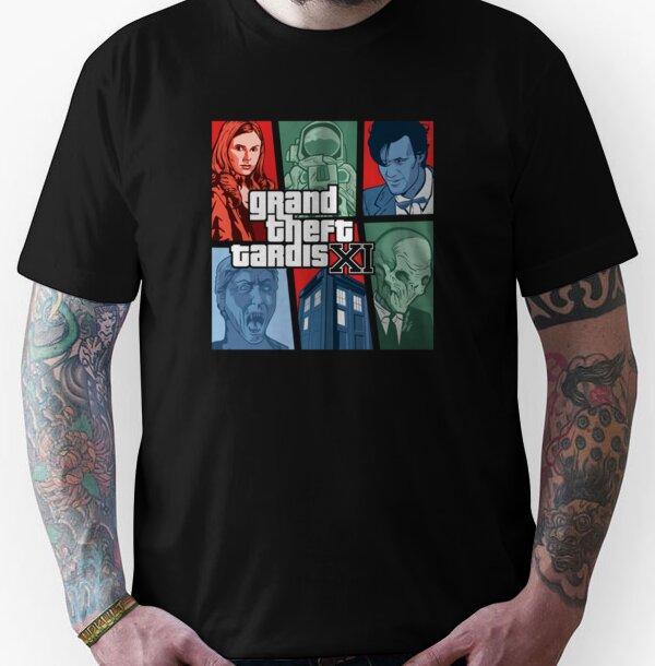 Grand Theft Tardis Eleven Unisex