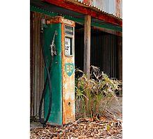 Rusting Fuel Pump Photographic Print
