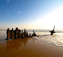 Wreck of the SS Dicky by Renee Hubbard Fine Art Photography