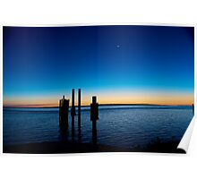 End of the Day ~ Dunwich, North Stradbroke Island Poster