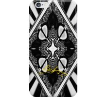Black and White Psychedelia iPhone Case/Skin