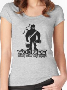 Wookiee Wash Wax and Shine Women's Fitted Scoop T-Shirt