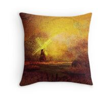 Ye olde Mill'... Throw Pillow