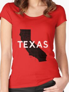 Texas! Wait... Women's Fitted Scoop T-Shirt