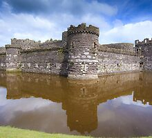 Beaumaris Castle by Joe Wainwright