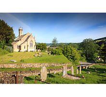 Sheepscombe, Gloucestershire Photographic Print
