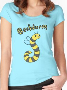BeeWorm Women's Fitted Scoop T-Shirt