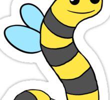 BeeWorm Sticker
