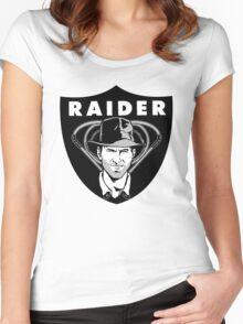 raider Women's Fitted Scoop T-Shirt