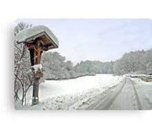 Winter in Tirol - Austria Metal Print