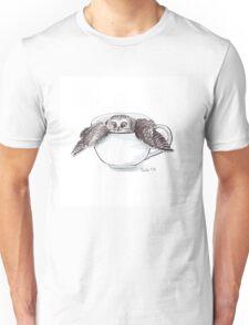 Little Owl in Mug Unisex T-Shirt