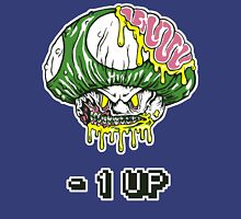 Zombie Mushroom -1 up T-shirt Unisex T-Shirt