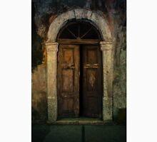 Old wooden doors and nice arch Classic T-Shirt