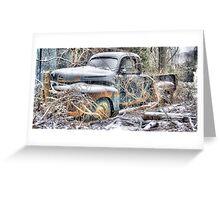 Rusty Ruin Greeting Card