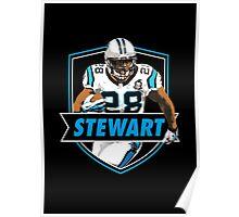 Jonathan Stewart - Carolina Panthers Poster