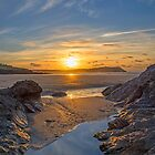 Polzeath Sunset by Chris Thaxter