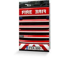 FYA 999 Greeting Card