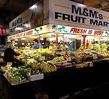 Produce Stall, Adelaide Central Market by DaveLambert