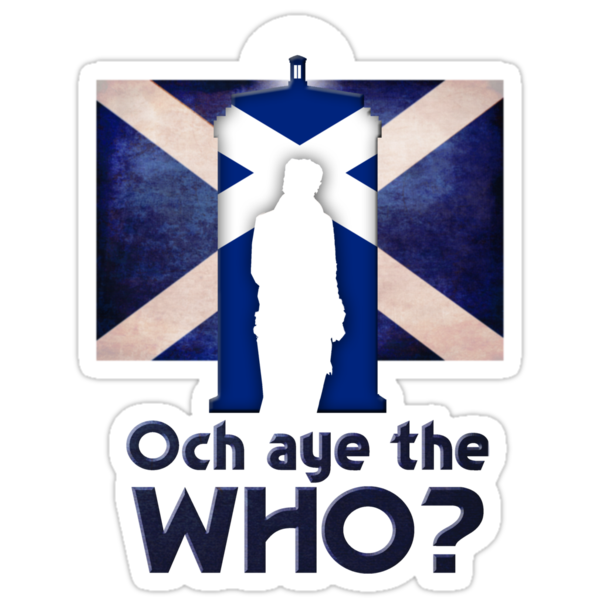 OCH AYE THE WHO? by ToneCartoons