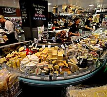 Cheese Stall, Adelaide Central Market by DaveLambert