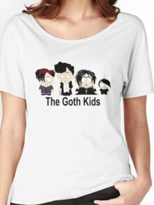 South Park Goth Kids Women's Relaxed Fit T-Shirt