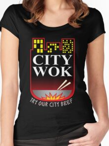 South Park City Wok Women's Fitted Scoop T-Shirt