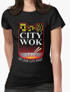 South Park City Wok Womens Fitted T-Shirt