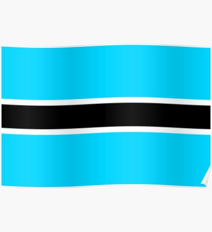 Flag of Botswana Poster