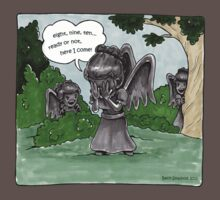 Weeping Angel Games by beckadoodles