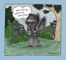 Weeping Angel Games Kids Clothes