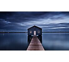 'The Boatshed' Photographic Print