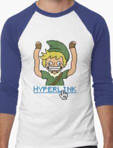 Hyperlink Men's Baseball ¾ T-Shirt
