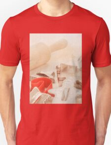 Vintage Tin Cookie Cutters Christmas Card T-Shirt