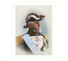 Oscar II, king of Sweden and Norway — ca 1880 Art Print