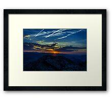 At sunrise Framed Print