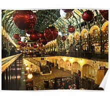 Covent Garden at Christmas Poster