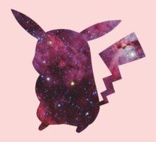 Pikachu - Galaxy by Margaret Newlands