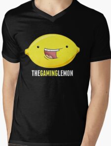 The gaming lemon Mens V-Neck T-Shirt