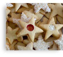 Christmas Cookies Canvas Print