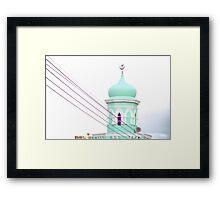 Cape Town Malay Quarter Framed Print