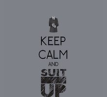 Keep Calm And Suit Up! for Samsung Galaxy by jes0613