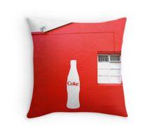 Coke Throw Pillow