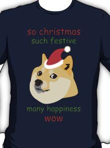 So Christmas - Doge T-Shirt
