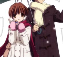 Shall I take you away? - Nagisa (Clannad) Sticker